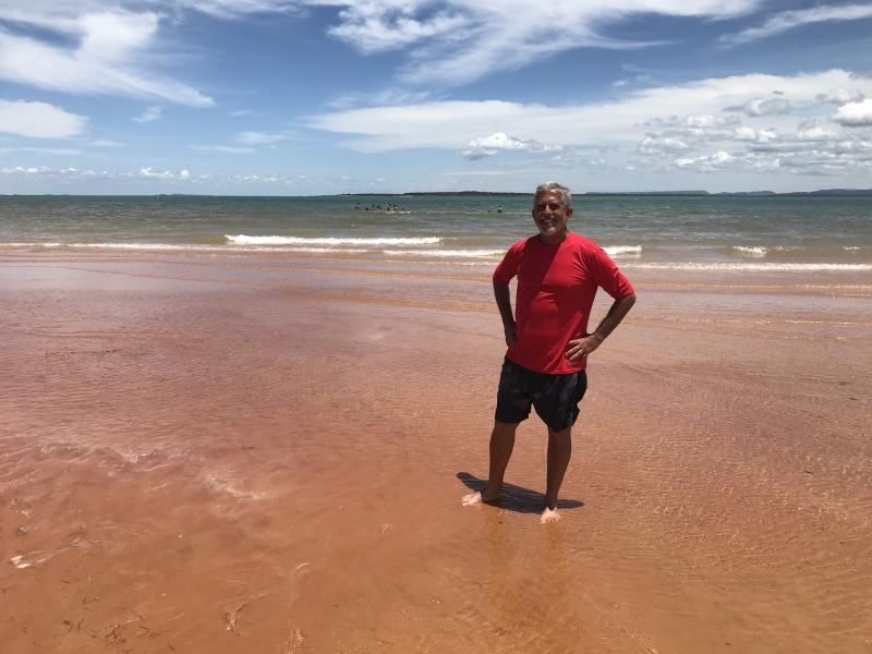 Repórter José Raimundo visita as Dunas do Velho Chico, no Lago de Sobradinho