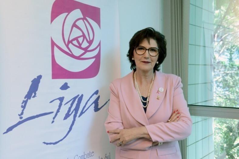 Nelma Wagner Gallo, presidente da Liga Feminina de Combate ao Câncer