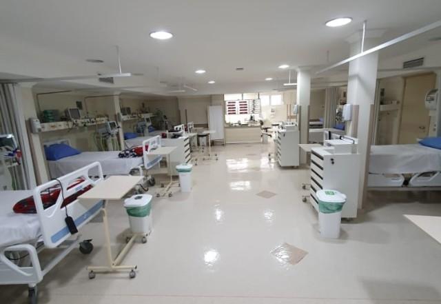 Com a ampliação, o hospital totaliza 38 leitos de UTI e 60 de internação para a doença