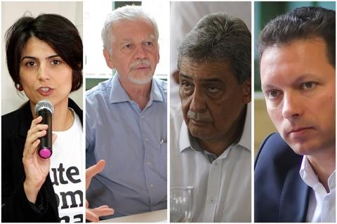 Pesquisa aponta Manuela d'Ávila liderando com 24% em Porto Alegre