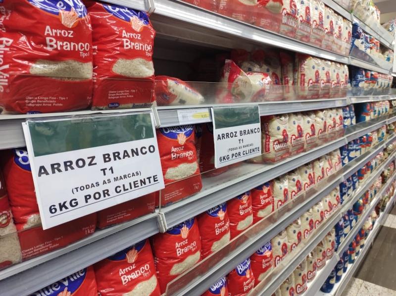 Aumento nos preços do arroz (13,36%) e do óleo de soja (17,44%) puxou a alta no indicador