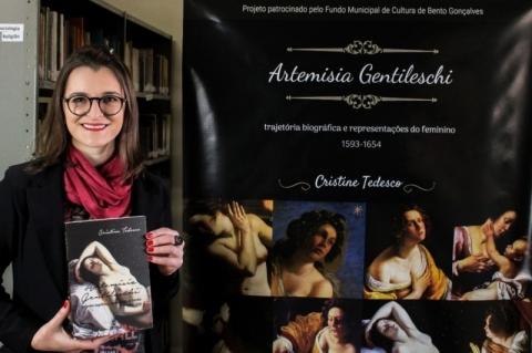 Historiadora lança livro sobre destacada pintora do Barroco europeu
