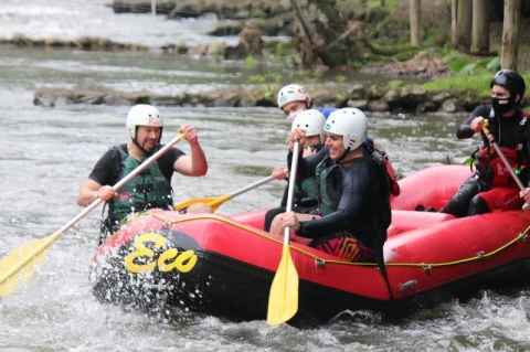 Empresários do rafting apostam em parques cheios