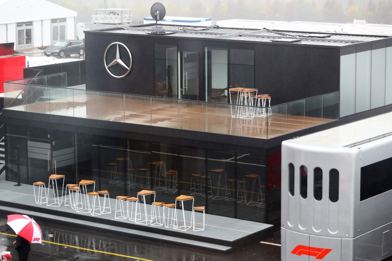 Mercedes confirmou segundo caso no GP de Eifel, no circuito de Nürburgring, na Alemanha