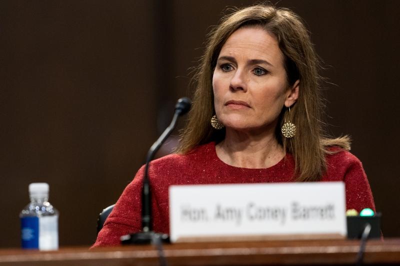 Republicanos estão agindo rapidamente para confirmar Amy antes da eleição de 3 de novembro