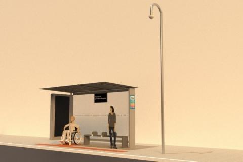 Como podem ser os abrigos de ônibus de Porto Alegre na concessão