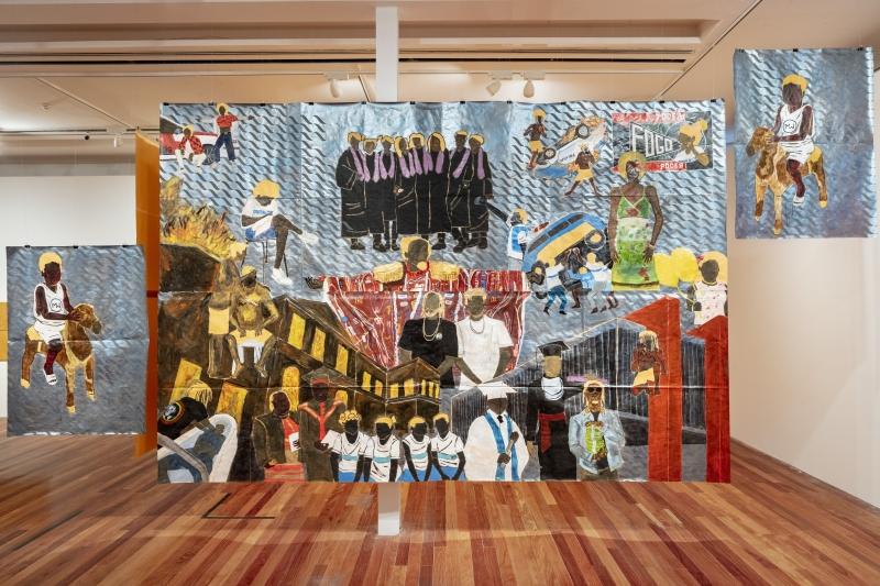 Artista inaugura a mostra de painéis 'Pardo é papel' neste sábado (17)