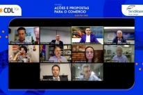 Candidatos à prefeitura de Porto Alegre debatem ações para o comércio