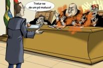 O pó que assustou os juízes