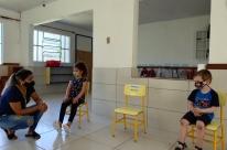 Ensino infantil é retomado de forma presencial em Estrela