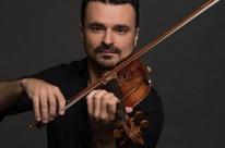 Violinista Cármelo de los Santos ministra palestra online neste sábado