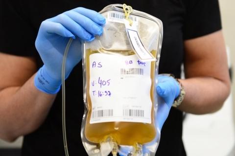 Tratamento com plasma chega ao 100º paciente em 5 cidades