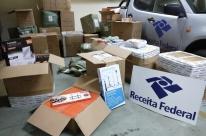 Receita Federal apreende 1,5 tonelada de mercadorias em transportadoras de Pelotas