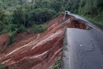 Obras em trecho que desmoronou da ERS-448 devem começar