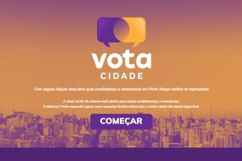 Plataforma Vota Cidade permitirá ao eleitor encontrar candidatos a vereador por afinidade