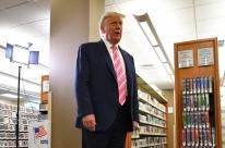 Donald Trump faz voto antecipado na Flórida para eleições norte-americanas