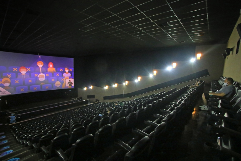 Salas do GNC Cinemas do Moinhos Shopping permanecerão fechadas até quinta-feira