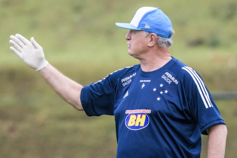 Empresário viabilizou a chegada do técnico Luiz Felipe Scolari para comandar a Raposa