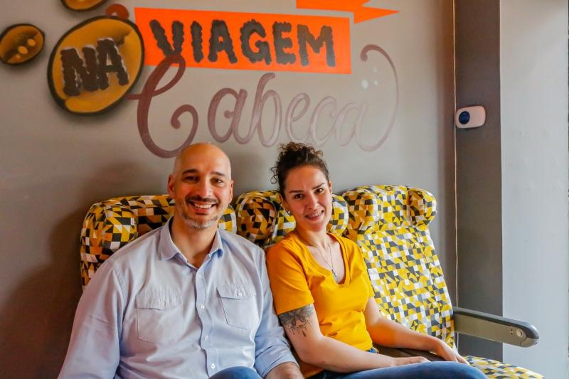 Leandro e Flavia Araujo são sócios da Grãos do Mundo