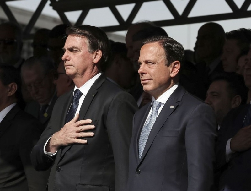 Doria reagiu e afirmou que Bolsonaro está mais preocupado em atacar do que governar