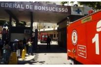 Incêndio atinge hospital da zona norte no Rio de Janeiro