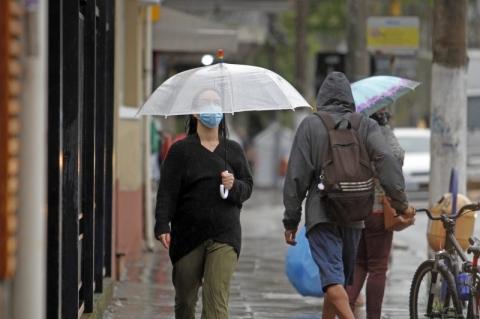 Rio Grande do Sul terá predomínio de nebulosidade nesta terça-feira