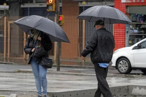 Metade Leste do Rio Grande do Sul pode ter chuva nesta sexta-feira