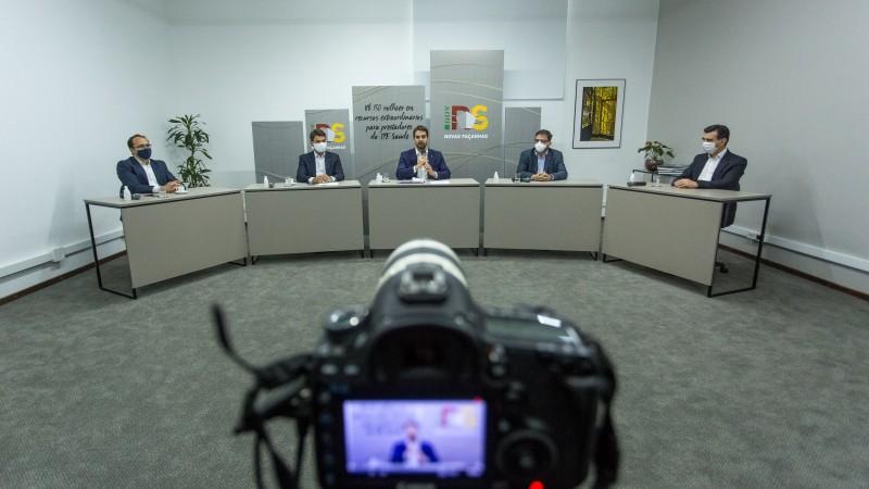 Anúncio foi realizado durante transmissão pela plataforma do Youtube do Governo do Estado