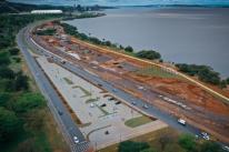 Estacionamento no trecho 3 da orla do Guaíba será liberado nesta quinta-feira