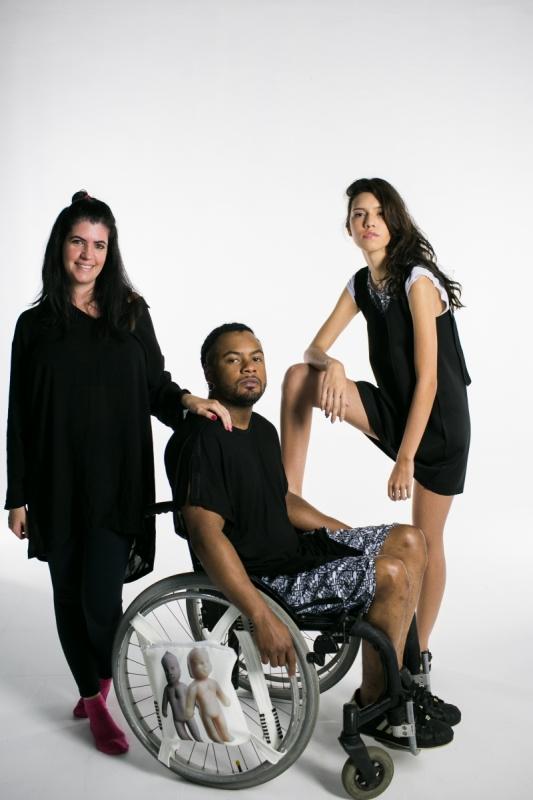 Peças de Vitória são para cadeirantes, deficientes visuais ou com nanismo