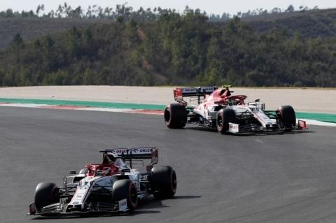 Antes do GP em Ímola, Alfa Romeo renova com Raikkonen e Giovinazzi