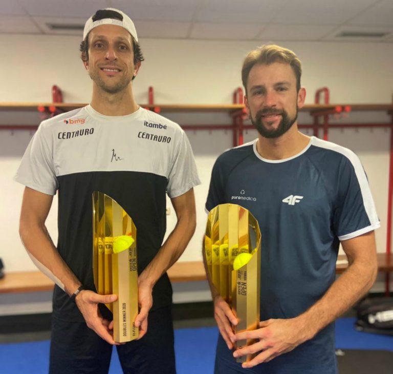 Dupla conquistou o terceiro título no ATP 500 de Viena
