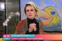 Em programa ao vivo, Ana Maria Braga se emociona ao lembrar de Tom Veiga, o Louro José
