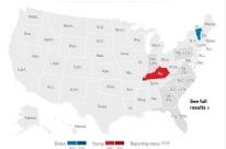 Eleições EUA: Trump vence em Kentucky e Indiana, segundo projeções da mídia; Biden leva Vermont
