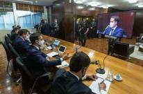 Em reunião com chefes dos Poderes, Leite diz que RS precisa focar em gerar receita