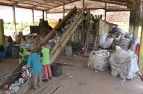 Reciclagem ajuda a levar renda e a reduzir poluição em Teutônia