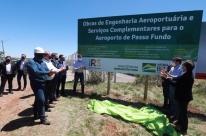 Começa obra de ampliação do aeroporto de Passo Fundo no valor de R$ 45 milhões