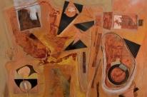 Exposição de André Santos sobre o tempo fica em cartaz na Gravura Galeria até sábado