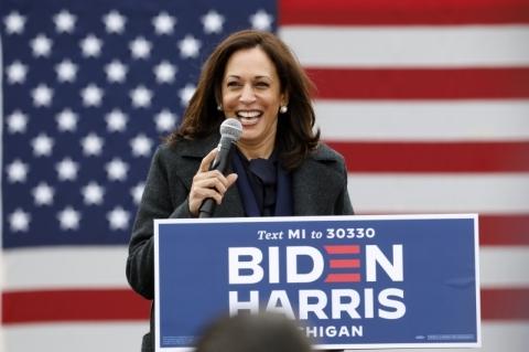Biden, 'você é o próximo presidente dos Estados Unidos', comemora Kamala no Twitter