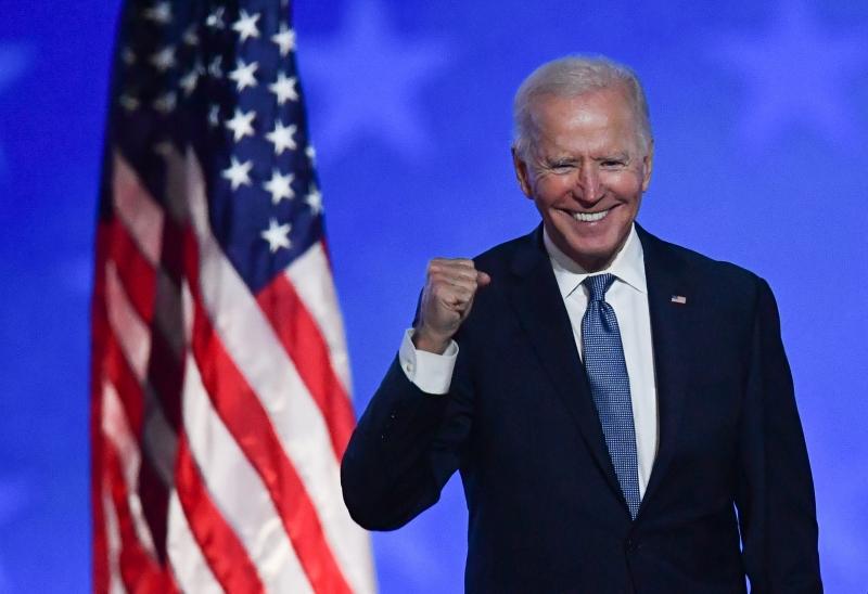 Projeção da vitória de Biden veio com os resultados na Pensilvânia
