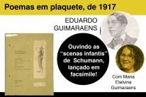 Editora Libretos promove bate-papo sobre obra de Eduardo Guimaraens