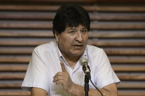 Ex-presidente da Bolívia Evo Morales testa positivo para Covid-19