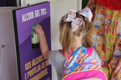 Escolas infantis de Lajeado promovem o retorno das aulas
