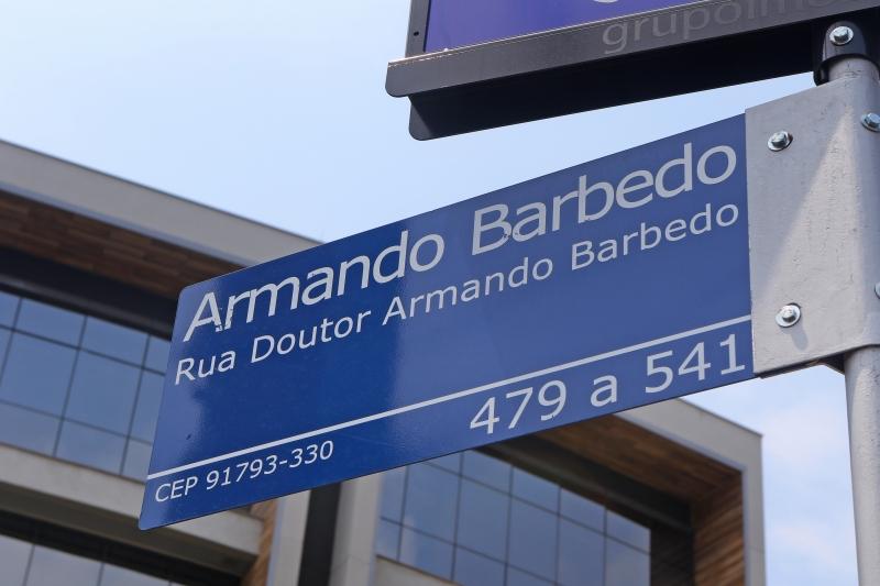 Código da placa pertence a via do bairro Restinga, no extremo-Sul da cidade