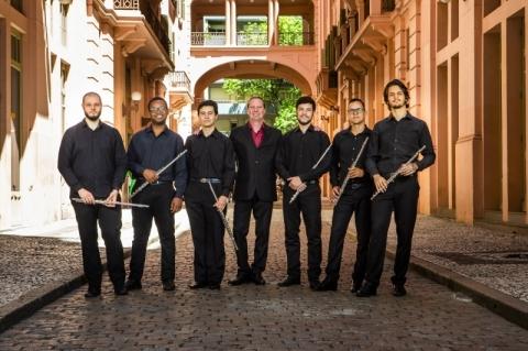 Orquestra de Flautas do Ipdae faz live de lançamento de primeiro CD
