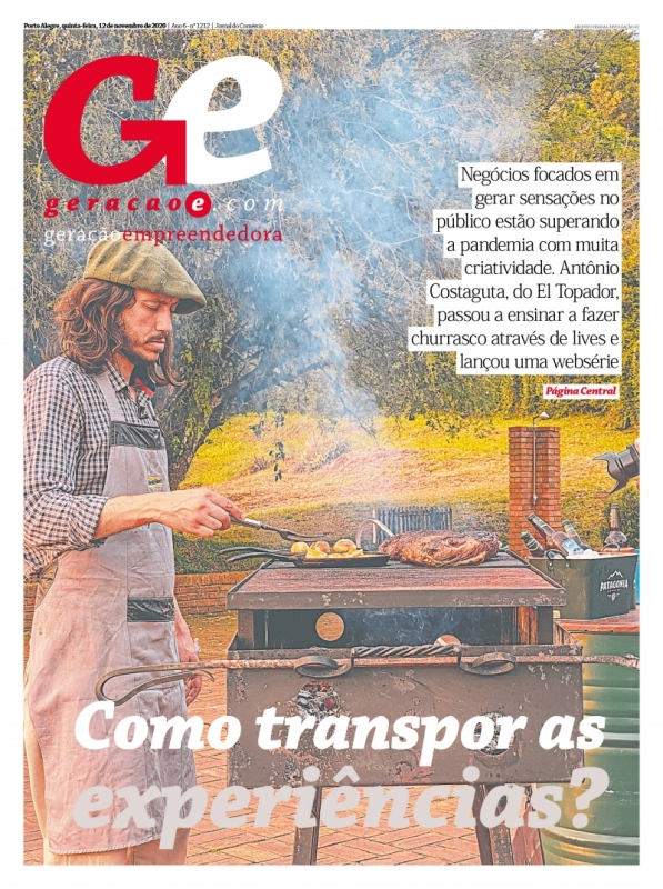 Capa do GeraçãoE do dia 11/11/2020
