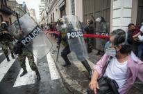 Peru registra mais protestos em apoio ao presidente destituído Martin Vizcarra