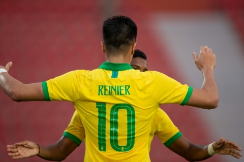 Seleção brasileira olímpica bate Coreia do Sul de virada em amistoso no Egito