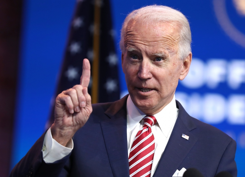Biden foi considerado eleito pela mídia local em 7 de novembro, tendo derrotado atual presidente Donald Trump