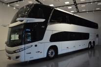 Marcopolo lança ônibus rodoviário com espelhos retrovisores eletrônicos